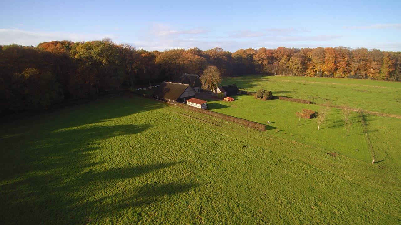 Foto Tolhuis vanuit de Lucht