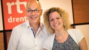 Hemmeltied RTV Drenthe Harm Dijkstra en Leonie van der Werf